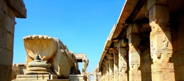 The Veerbhadra temple of Lepakshi
