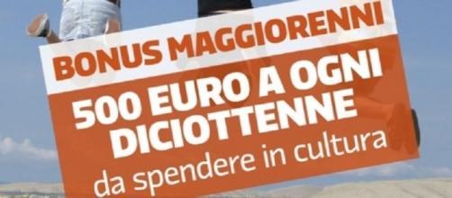 Dal 3 novembre si potrà spendere il bonus di 500 euro per i diciottenni