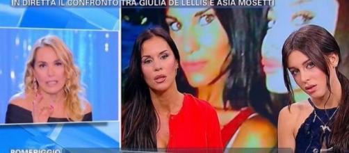 Grande Fratello Vip: Barbara d'Urso contro Antonella Mosetti