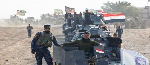 Le forze militari anti-Isis sono entrate a Mosul.