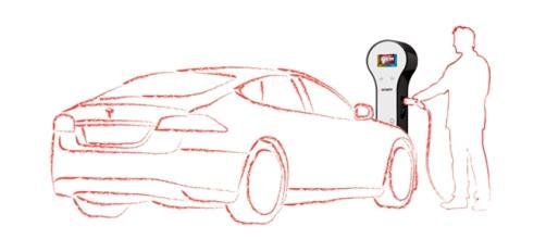 Repower soluzioni di ricarica elettrica per l'auto.