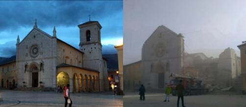 San Benedetto di Norcia: prima e dopo il terremoto