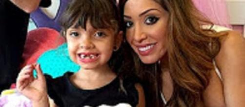 "source: YouTube user I Know Gossip: ""Farrah Abraham: SLAMMED For Calling Daughter ""Stupid Heathen"""