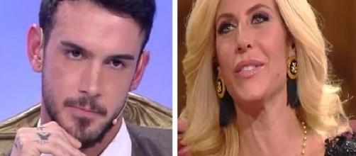 Uomini e Donne: Lucas Peracchi contro Paola Caruso.