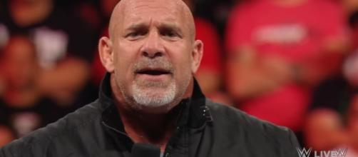"WWE""s Bill Goldberg (Source: https://www.youtube.com/watch?v=ydhqoHw3__U)"