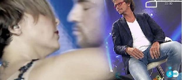 """Alejandro Abad comentando la """"cobra"""" en sálvame"""