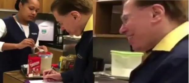 Humilde, Silvio decide fazer café