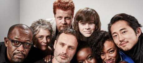 'The Walking Dead' group/ Photo via Chandler Riggs - chandler-riggs.com