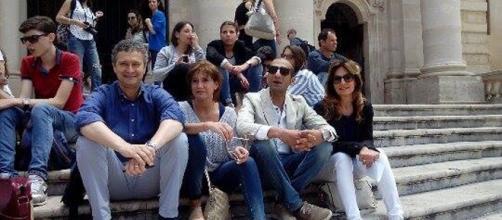 Consiglieri comunali Milazzo, Princiotta, Castagnino, Vinci.