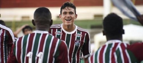 Pedro é uma das apostas do Fluminense para o futuro (Foto: Divulgação FFC)