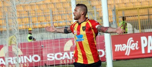 Salvatore Caturano, capocannoniere del girone C ed autore del gol-vittoria nel big-match con la Juve Stabia