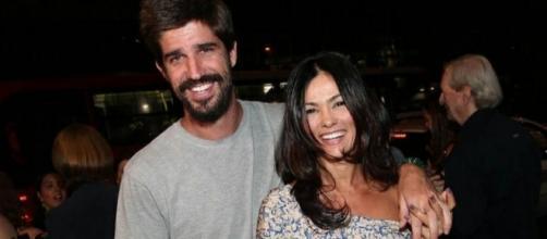 Suzana Alves, ex-Tiazinha, está casada com Flávio Saretta
