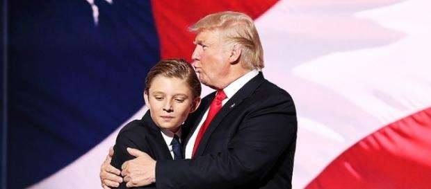 Barron Trump thrust into limelight now autisic questions bombard the Trumps. Photo: Blasting News Library - people.com