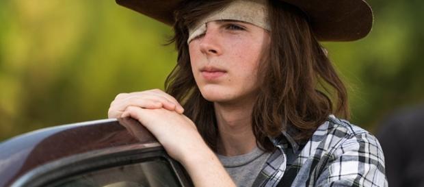 Carl Grimes no 5º episódio da 7ª temporada