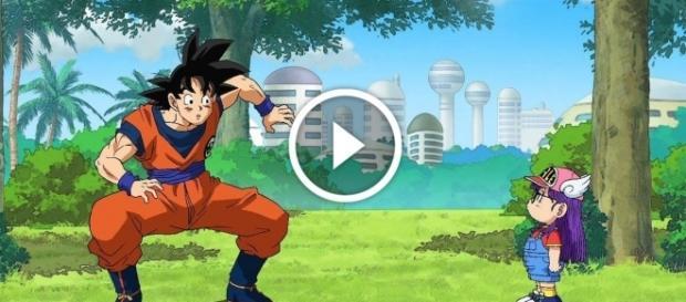 Goku y Arale se vulve a ver las caras en el Capítulo 69 de Dragon Ball super con un terrible combate que pondrá en peligro la tierra!