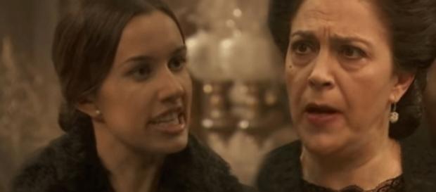 Il Segreto, anticipazioni trama 1235: Francisca e Aurora ai ferri corti
