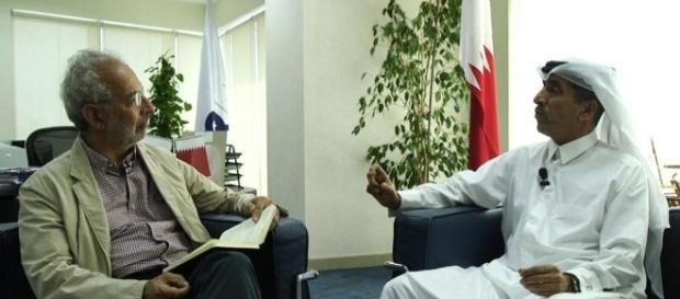 Lerne a colloquio con un architetto qatariota
