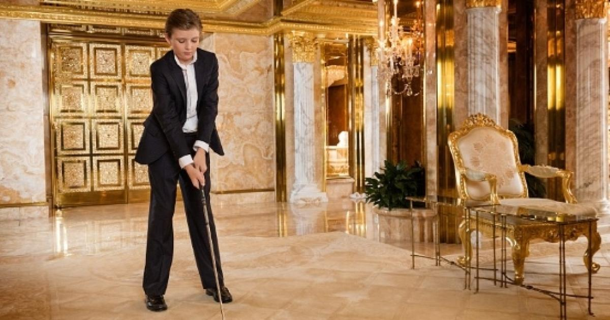 Golf R Lease >> Barron Trump schooling excuse 'appalling' to some -- seen as White House snub by Melania?