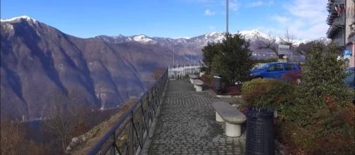 Alta Valle Intelvi - Belvedere Lanzo, panorama sulle alpi Svizzere