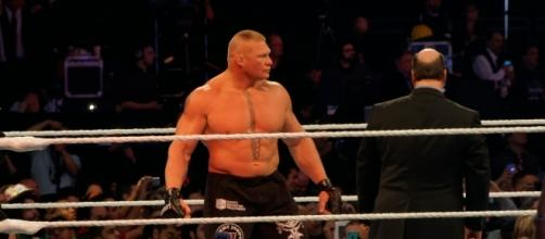 Brock Lesnar would face Goldberg in the 'Survivor Series' main event. [Photo via Flickr Creative Commons]