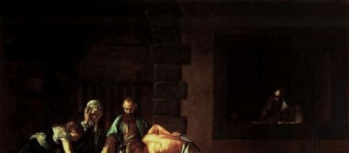 Caravaggio, Decollazione di san Giovanni Battista, 1608