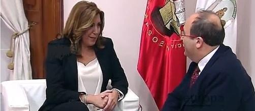 Díaz e Iceta defienden la Declaración de Granada Europa Press