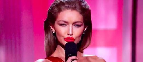 Gigi Hadid gets major backlash for Melania Trump Impression at AMAs - Photo: Blasting News Library - Gigi Hadid Melania Trump - harpersbazaar.com