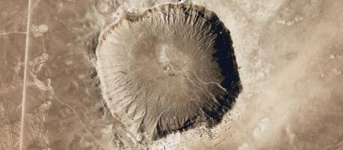 Meteor Crater (Arizona) Courtesy Pixabay, CCO public domain