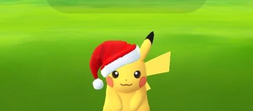 Pokemon Go: ecco il simpatico Pikachu in versione natalizia