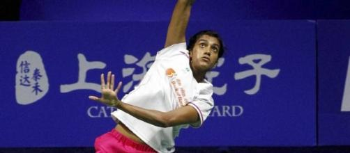 PV Sindhu in action. http://indianexpress.com/article/sports/badminton/pv-sindhu-india-dragon-slayer-china-open-superseries-4386470/