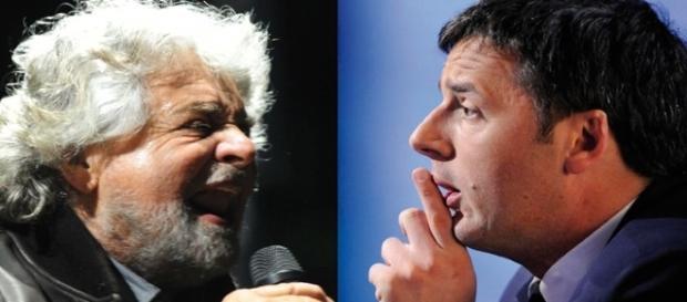 Botte da orbi tra Grillo e Renzi | Tito di Persio