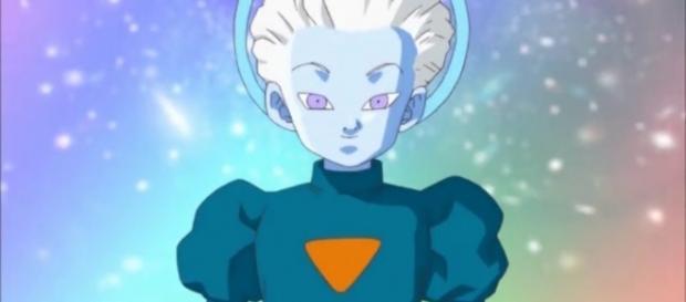 Daishinkan, padre de Whis, Vados y uno de los 5 guerreros más fuertes de los 12 universos.