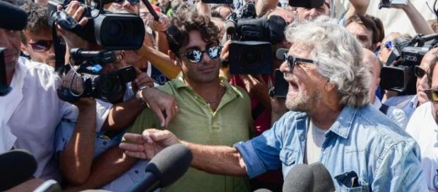 Il comico Beppe Grillo è da tempo sulla scena politica