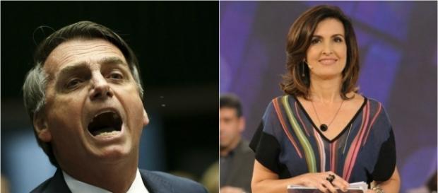 Jair Bolsonaro rebate Fátima Bernardes em vídeo