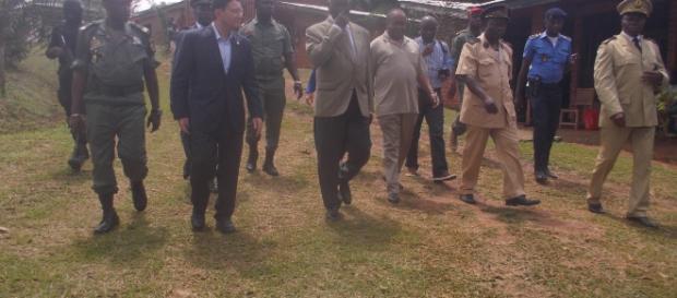 Le scretaire Général et la Ministre du Tourisme Camerounais