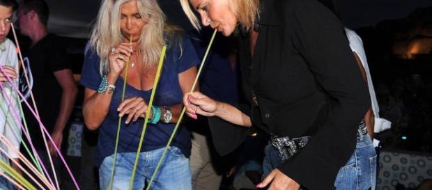 Mara venier e Simona Ventura gossip
