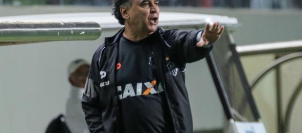 Marcelo Oliveira comanda o Atlético Mineiro. FOTO (Divulgação Atlético)