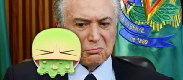 Michel Temer quer impedir 'vomitaço' no Facebook