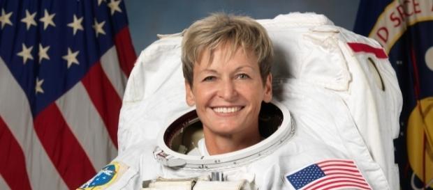 Peggy Whitson ficará no espaço durante 6 meses. Imagem: Nasa