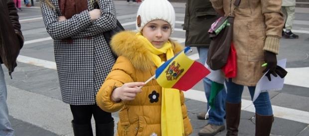 Protest moldoveni in Milano 2016