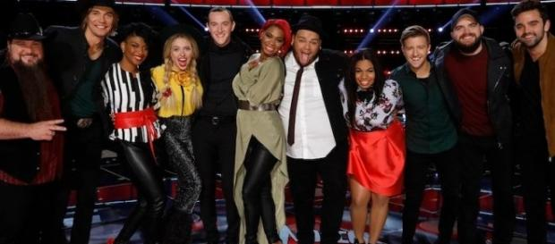 'The Voice' top 11 sings live tonight - see the song list here! (via Twitter NBC The Voice)