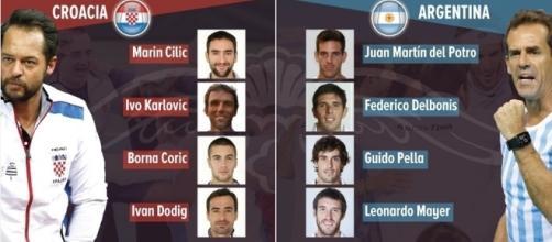 Croacia parte como favorita con la vuelta de Ivo Karlovic al equipo.