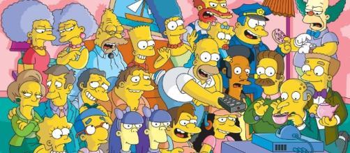 Los personajes de Los Simpsons