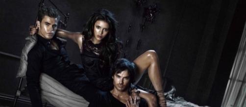 The Vampire Diaries main cast / Photo via SpoilerTV
