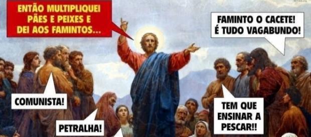 Como Jesus seria taxado se pregasse suas ideias no Brasil atual?