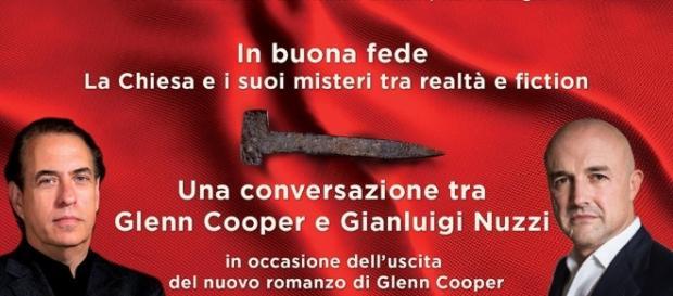 Glenn Cooper: il suo nuovo romanzo - blogspot.com