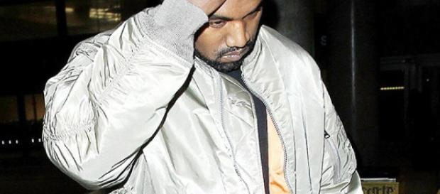 Kanye West went on a rampage before being hospitalized/Photo via hollywoodlife.com
