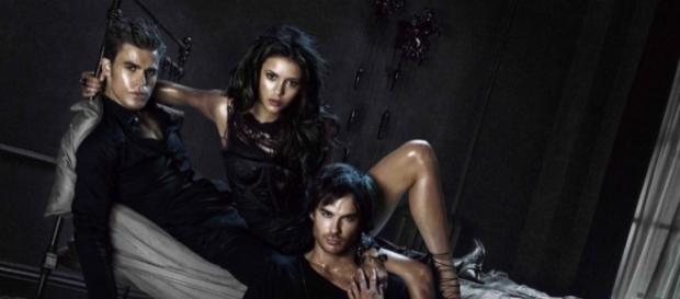 The Vampire Diaries main cast / Photo via SpoilerTV