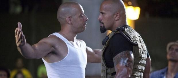"""Vin Diesel e Dwayne Johnson se desentendem nas gravações de """"Velozes e Furiosos 8"""""""