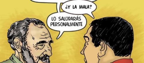 Fidel y Hugo se reencuentran en la Quinta Paila